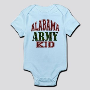 Alabama Army Kid Infant Bodysuit