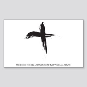 """Ash Wednesday"" Sticker (Rectangle)"