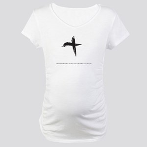 """Ash Wednesday"" Maternity T-Shirt"