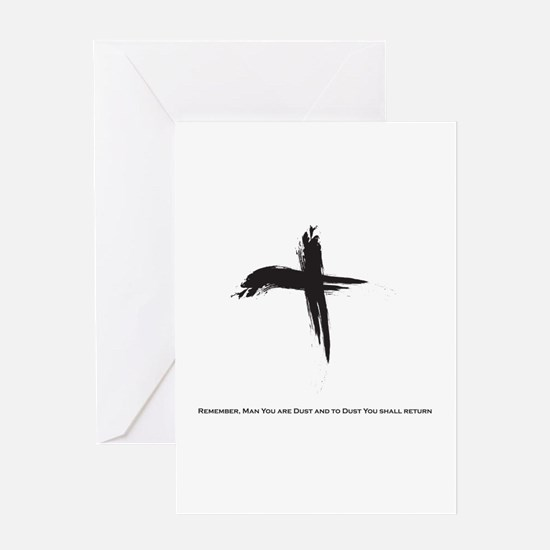 """Ash Wednesday"" Greeting Card"