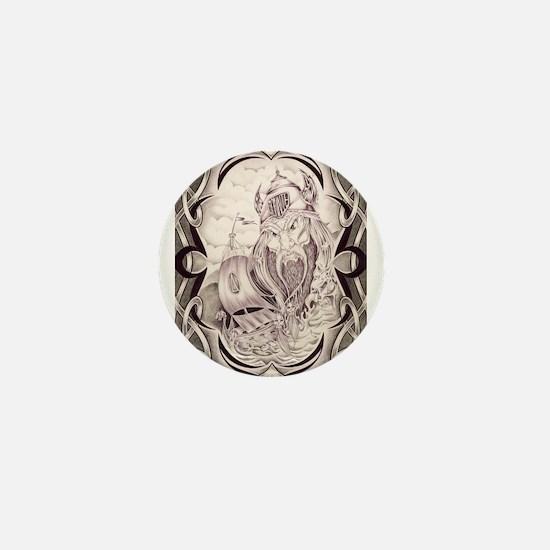Viking Donnie Mini Button