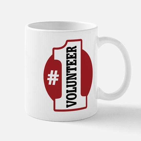 #1 Volunteer Mug