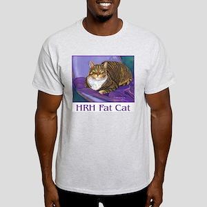 Fat Cat Ash Grey T-Shirt