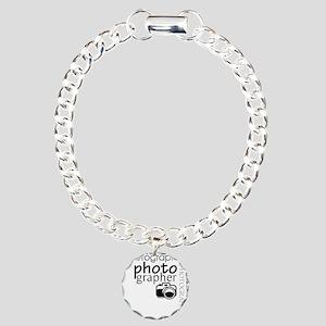 Photographer Charm Bracelet, One Charm