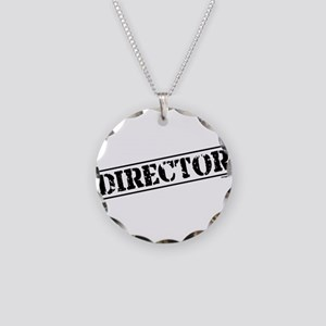 Director Stamp Necklace Circle Charm