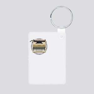 The Alchemy of Writing Aluminum Photo Keychain