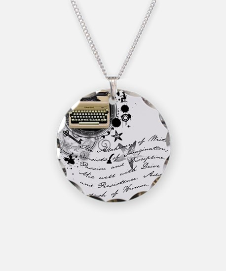 The Alchemy of Writing Necklace