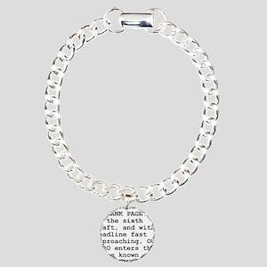 Rewrite Hell Charm Bracelet, One Charm