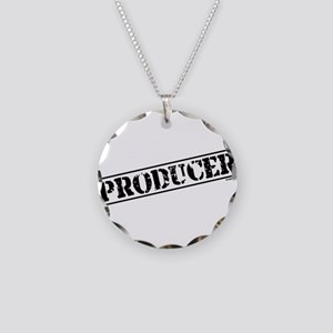 Producer Stamp Necklace Circle Charm