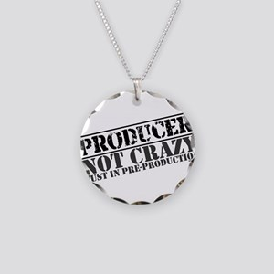 Not Crazy Just in Pre-Product Necklace Circle Char