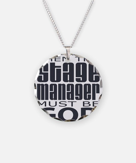 Stage Manager God Necklace