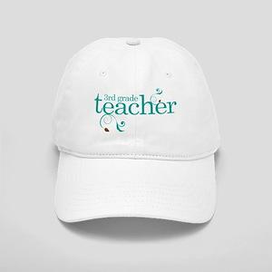 3rd Grade Teacher Swirl Cap