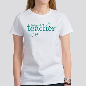 3rd Grade Teacher Swirl Women's T-Shirt