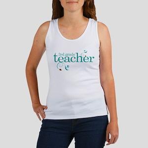 3rd Grade Teacher Swirl Women's Tank Top