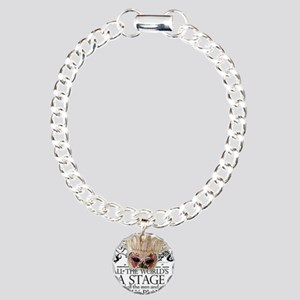 As You Like It II Charm Bracelet, One Charm