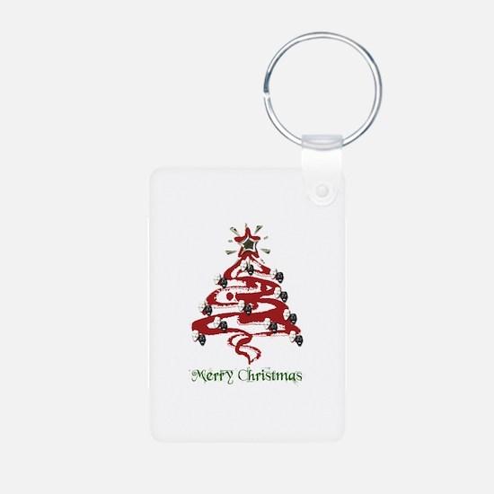 Actors' Christmas Tree Keychains