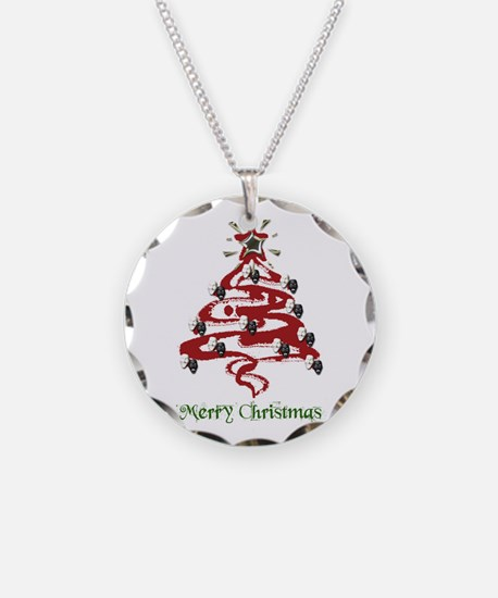 Actors' Christmas Tree Necklace