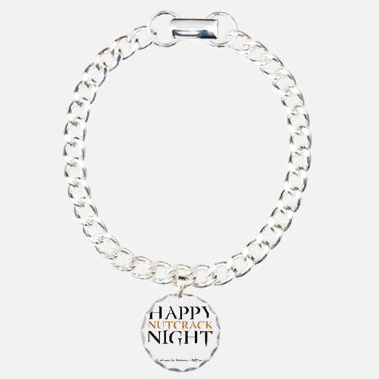 Nutcrack Night Charm Bracelet, One Charm