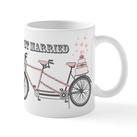 Tandem Bicyle Wedding Mug