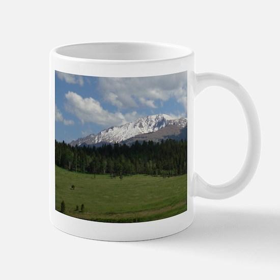 North Face of Pikes Peak Mug