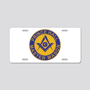 Prince Hall Master Masons Aluminum License Plate