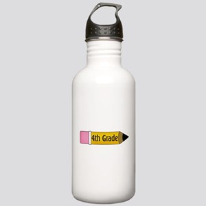 4th Grade Stainless Water Bottle 1.0L