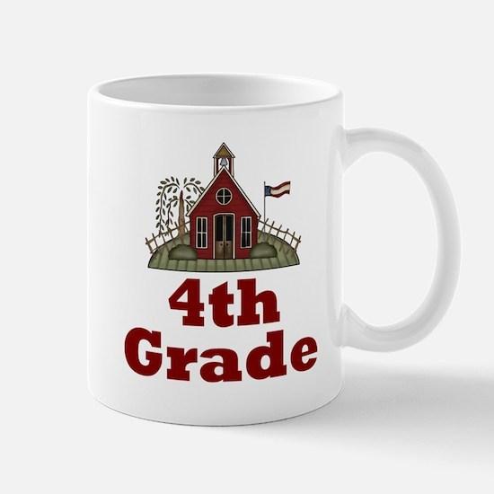 New Teacher Gift 4th Grade Mug