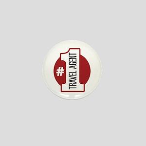 #1 Travel Agent Mini Button