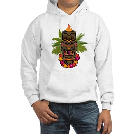 Tiki Aloha Hooded Sweatshirt