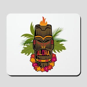 Tiki Aloha Mousepad