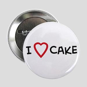 I Love Cake Button