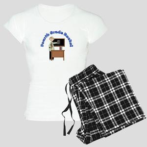 Present Teacher 4th Grade Women's Light Pajamas