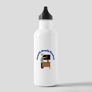 Present Teacher 4th Grade Stainless Water Bottle 1