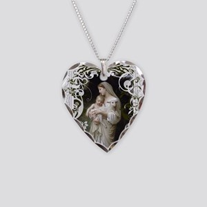 Innocence Necklace Heart Charm