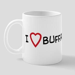 I Love Buffalo Wings Mug