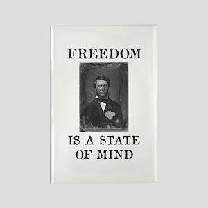 Henry Thoreau Rectangle Magnet