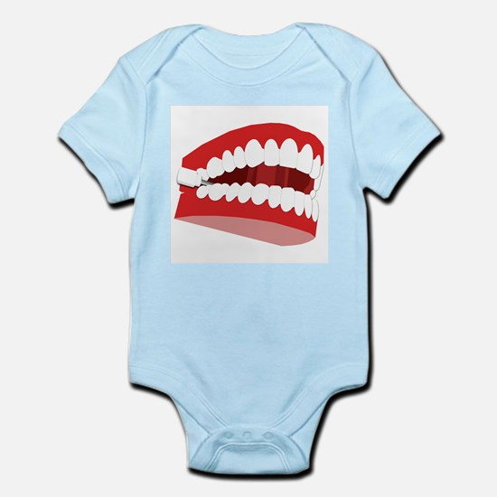 CHATTERING TEETH Infant Creeper