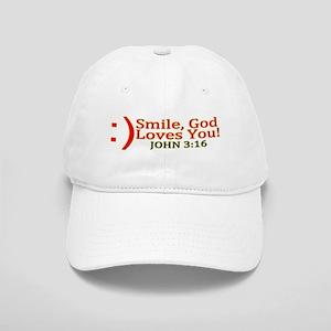 Smile, God Loves You! Cap