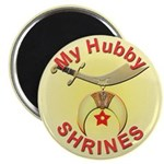 Proud Shriners Wife's Magnet