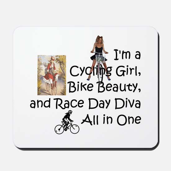 Cycling Race Diva Mousepad