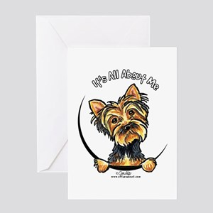 Yorkie IAAM Greeting Card