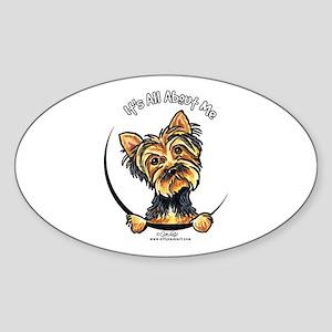 Yorkie IAAM Sticker (Oval)