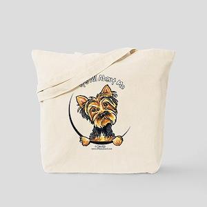 Yorkie IAAM Tote Bag