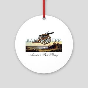 Abh Ball's Bluff Round Ornament