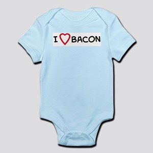 I Love Bacon Infant Creeper