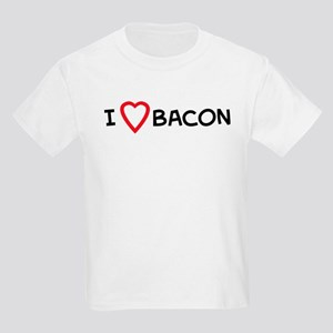 I Love Bacon Kids T-Shirt