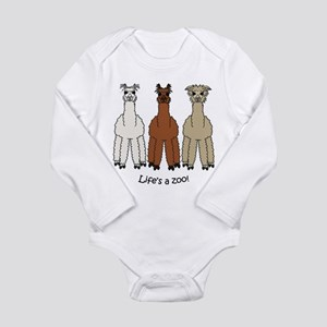 Alpaca Long Sleeve Infant Bodysuit