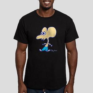 Ratboy Genius Icon Men's Fitted T-Shirt (dark)