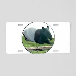 Helaine's Tapir Aluminum License Plate