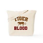 Tiger Blood Tote Bag
